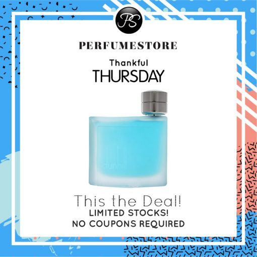 DUNHILL PURE EDT FOR MEN 75ML [THANKFUL THURSDAY SPECIAL]