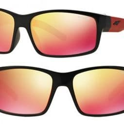 ARNETTE FASTBALL SUNGLASSES AN4202 23676Q MIRRORED RED 62MM 