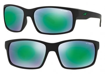 ARNETTE FASTBALL SUNGLASSES AN4202 447/3R MIRROR GREEN 62MM 
