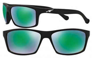 ARNETTE BOILER SUNGLASSES AN4207 447/3R MIRROR GREEN 61MM 