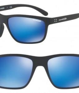 ARNETTE BOOGER SUNGLASSES AN4234 01/25 BLUE MIRROR 61MM 