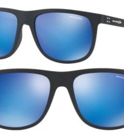 ARNETTE CROOKED GRIND SUNGLASSES AN4235 01/25 BLUE MIRROR 56MM 