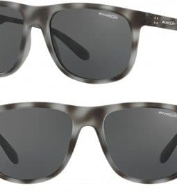 ARNETTE CROOKED GRIND SUNGLASSES AN4235 246287 GREY HAVANA 56MM 