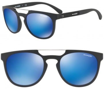 ARNETTE WOODWARD SUNGLASSES AN4237 01/25 BLUE MIRROR 52MM 