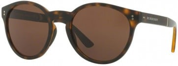 BURBERRY BE4221 35365W MATTE DARK HAVANA 55MM BROWN SUNGLASSES 
