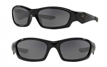 OAKLEY STRAIGHT JACKET SUNGLASSES OO9039 19-935 BLACK IRIDIUM POLARIZED 61MM 