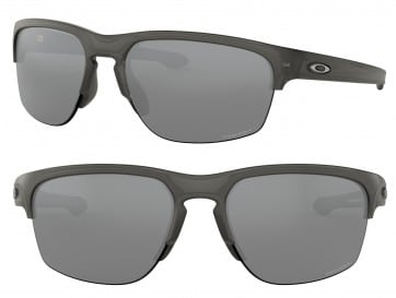 OAKLEY SLIVER EDGE OO9413 941303 PRIZM BLACK GRAY SMOKE 65MM SUNGLASSES 