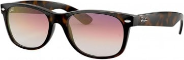 MIU MIU ITALY MU 10NS 1AB3M1 BLACK GOLD GREY GRADIENT CATS EYES SUNGLASSES 55MM  MU 10NS (1AB3M1) (55)