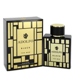ADOLFO ADOLFO BLACK EDT FOR MEN