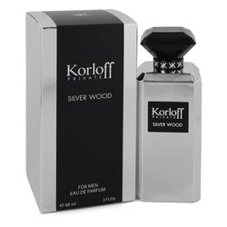 KORLOFF KORLOFF SILVER WOOD EDP FOR MEN
