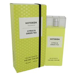 SELECTIVA SPA NOTEBOOK CITRUS & GREEN TEA EDT FOR UNISEX
