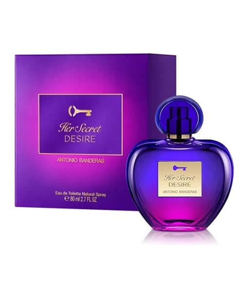 ANTONIO BANDERAS HER SECRET DESIRE EDT FOR WOMEN
