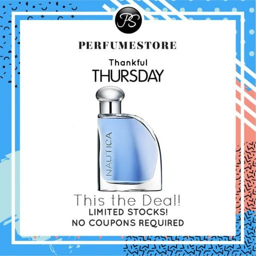 NAUTICA BLUE EDT FOR MEN 100ML [THANKFUL THURSDAY SPECIAL]