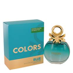 BENETTON COLORS DE BENETTON BLUE EDT FOR WOMEN