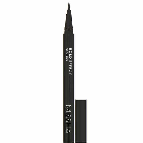 Missha, Bold Effect, Pen Liner, True Black, 0.4 g