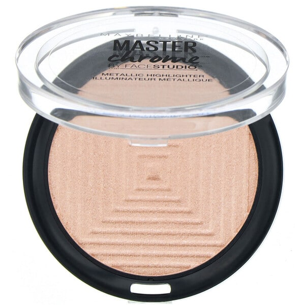 Maybelline, Master Chrome, Metallic Highlighter, Molten Rose Gold 050 , 0.24 oz (6.7 g)