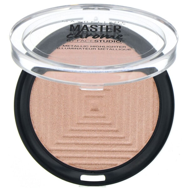 Maybelline, Master Chrome, Metallic Highlighter, Molten Peach 150 , 0.19 oz (5.6 g)