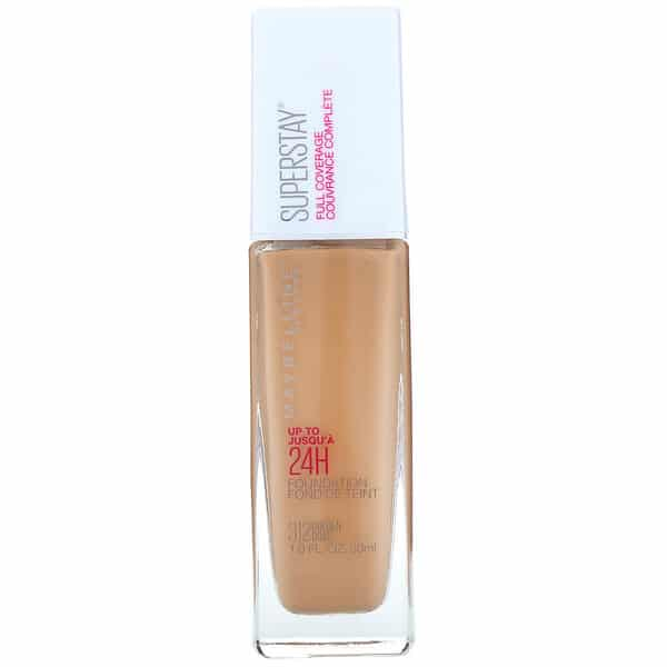 Maybelline, Super Stay, Full Coverage Foundation, 312 Golden, 1 fl oz (30 ml)
