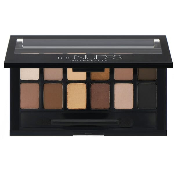Maybelline, The Nudes Eyeshadow Palette, 0.34 oz (9.6 g)