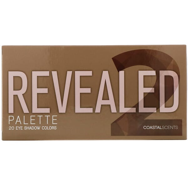 Coastal Scents, Revealed 2, Eyeshadow Palette, 1 oz (30 g)