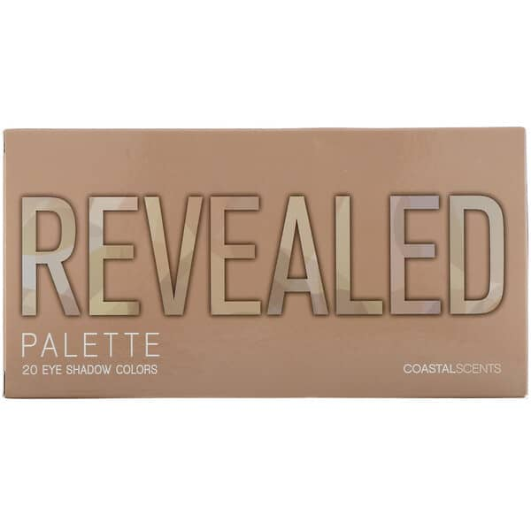 Coastal Scents, Revealed, Eyeshadow Palette, 1 oz (30 g)