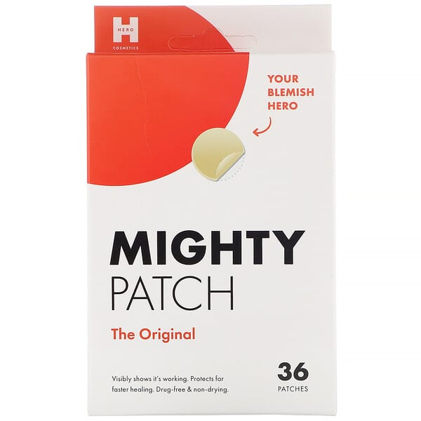 Hero Cosmetics, Mighty Patch, The Original, 36 Patches