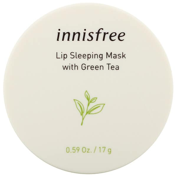 Innisfree, Lip Sleeping Mask with Green Tea, 0.59 oz (17 g)
