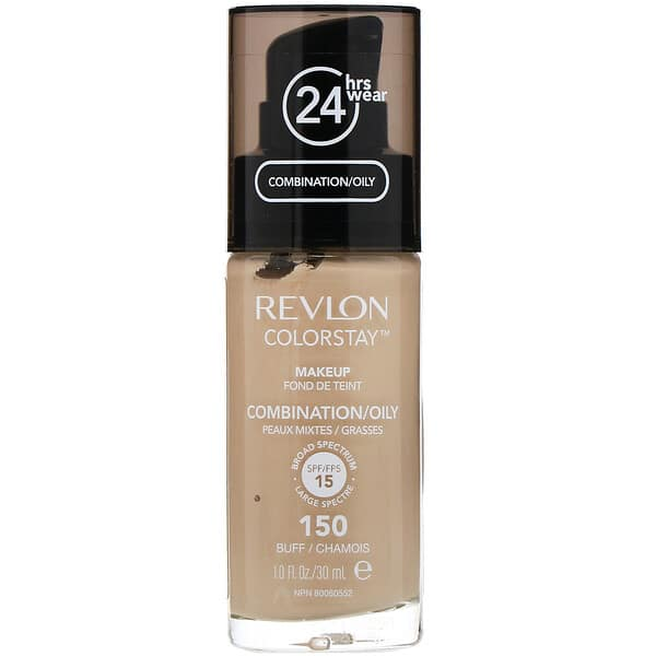 Revlon, Colorstay, Makeup, Combination/Oily, 150 Buff, 1 fl oz (30 ml)