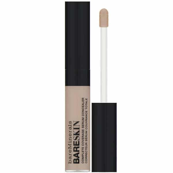 bareMinerals, BARESKIN, Complete Coverage Serum Concealer, Medium Golden, 0.20 fl oz (6 ml)