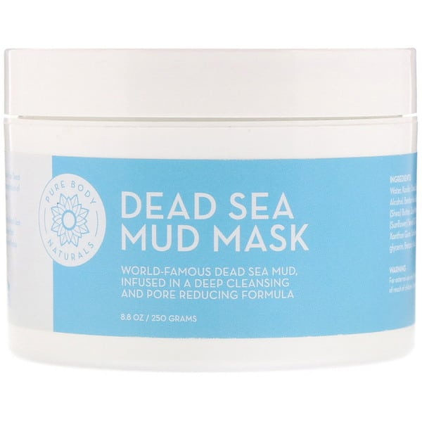Pure Body Naturals, Dead Sea Mud Mask, 8.8 oz (250 g)