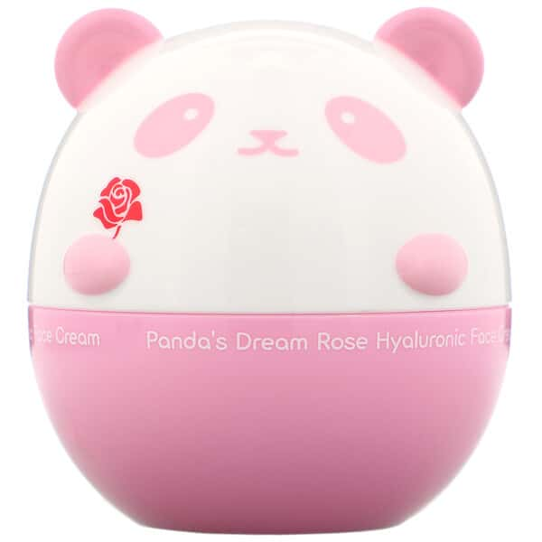 Tony Moly, Panda's Dream, Rose Hyaluronic Face Cream, 1.76 oz (50 g)