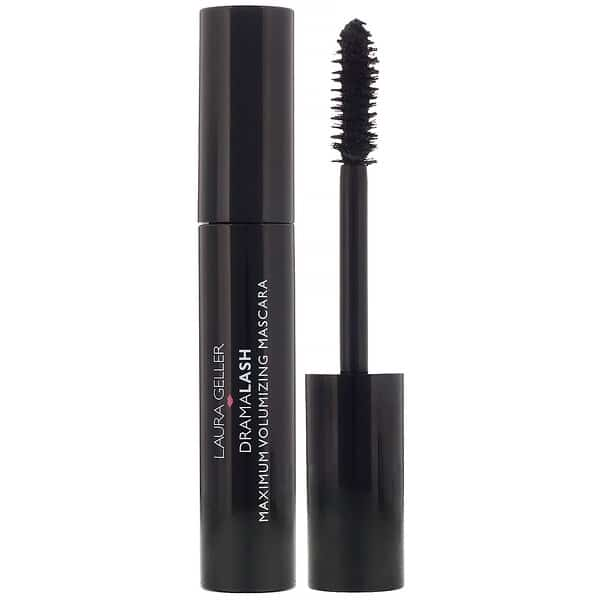 Laura Geller, DramaLash, Maximum Volumizing Mascara, Black, 0.45 fl oz (13.5 ml)