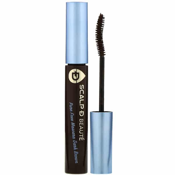 Angfa, Scalp-D Beaute, Pure Free Mascara, Dark Brown, 0.21 oz (6 g)