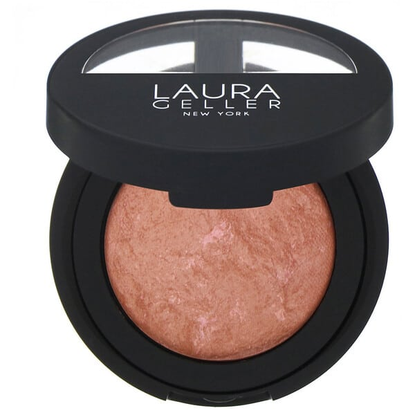 Laura Geller, Baked Blush-N-Brighten, Pink Grapefruit, 0.16 oz (4.5 g)