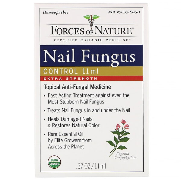 Forces of Nature, Nail Fungus Control, Extra Strength, 0.37 (11 ml)