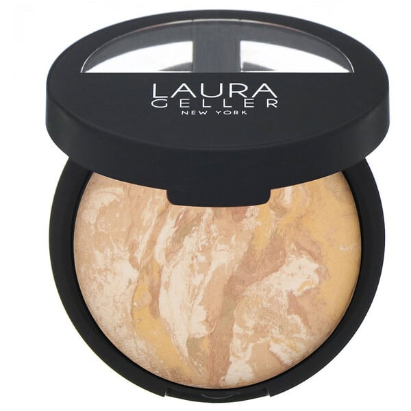 Laura Geller, Baked Balance-N-Brighten, Color Correcting Foundation, Light, 0.32 oz (9 g)