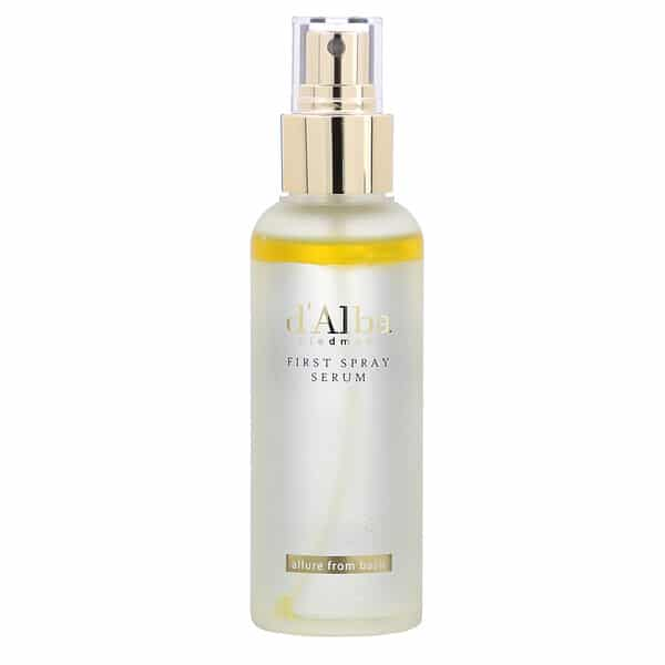 d'Alba, White Truffle, First Spray Serum, 3.38 oz (100 ml)