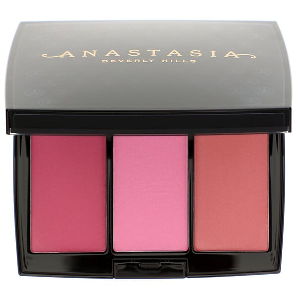 Anastasia Beverly Hills, Blush Trio, Pink Passion, 0.33 oz (9.3 g)