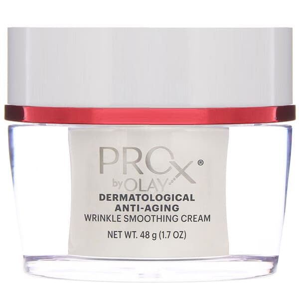 Olay, ProX, Dermatological Anti-Aging, Wrinkle Smoothing Cream, 1.7 oz (48 g)