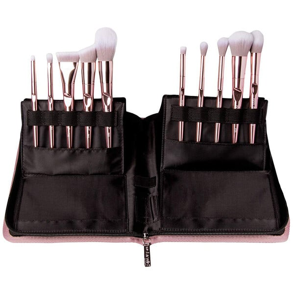 Wet n Wild, Pro Line Brush Set, 10 Piece Brush Collection + Limited Edition Brush Case