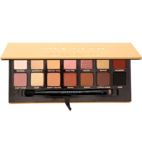 Anastasia Beverly Hills, Soft Glam, Eyeshadow Palette, 0.28 oz (10.36 g)