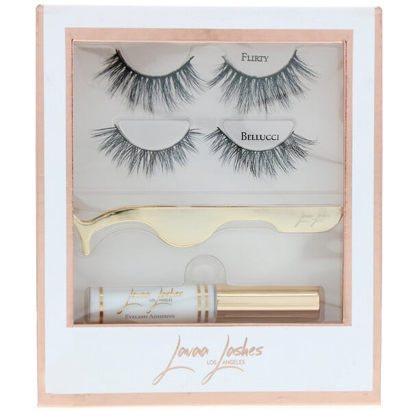 Lavaa Lashes, The Perfect Set, 1 Set