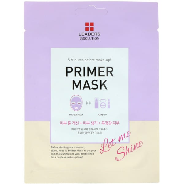Leaders, Primer Mask, Let Me Shine, 1 Sheet, 0.84 fl oz (25 ml)