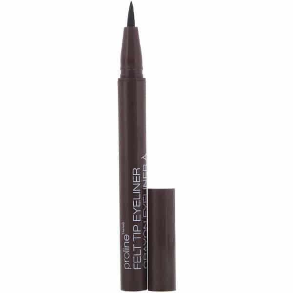 Wet n Wild, ProLine Felt Tip Eyeliner, Dark Brown, 0.017 oz (0.5 g)