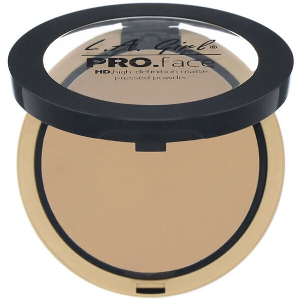 L.A. Girl, Pro Face HD Matte Pressed Powder, True Bronze, 0.25 oz (7 g)