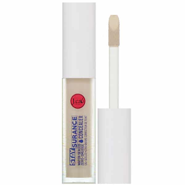 J.Cat Beauty, Staysurance, Water-Sealed Zero-Smudge Concealer, SHC107 Custard, 0.16 fl oz (4.8 ml)
