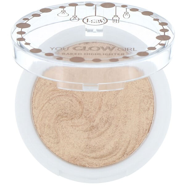 J.Cat Beauty, You Glow Girl, Baked Highlighter, YGG102 Twilight, 0.30 oz (8.5 g)