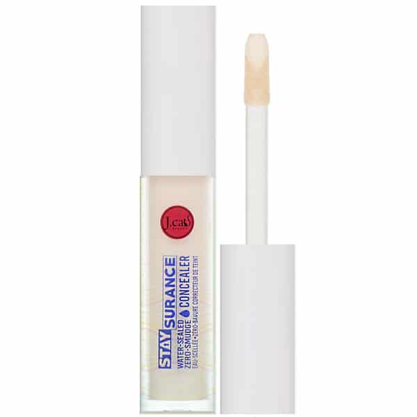 J.Cat Beauty, Staysurance, Water-Sealed Zero-Smudge Concealer, SHC101 Porcelain, 0.16 fl oz (4.8 ml)