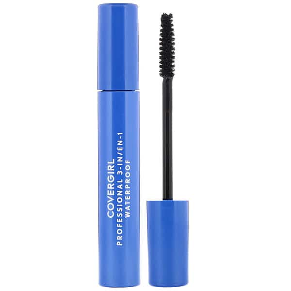 Covergirl, Professional, 3-in-1 Waterproof Mascara, 225 Very Black, .3 fl oz (9 ml)