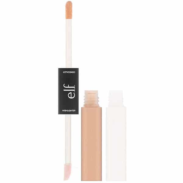 E.L.F., Under Eye Concealer & Highlighter, Medium/Glow, 0.4 fl oz (12 ml) Each